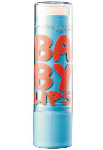 Pour un minois repulpé : Baume à lèvres hydratant sPF 20, Baby Lips, Gemey-Maybelline 3,90€