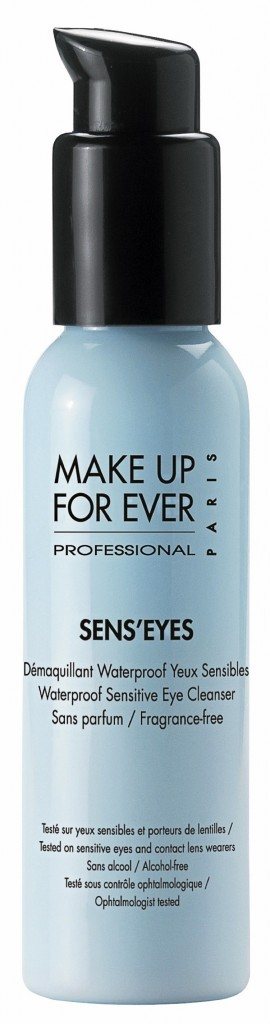 Démaquillant waterproof Sens'Eyes, Make Up For Ever 17,90 €
