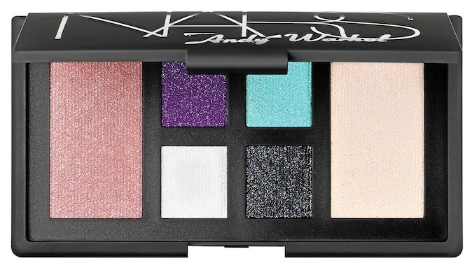 Palette Debbie Harry, collection Andy Warhol, Nars, en exclu chez Sephora 55 €