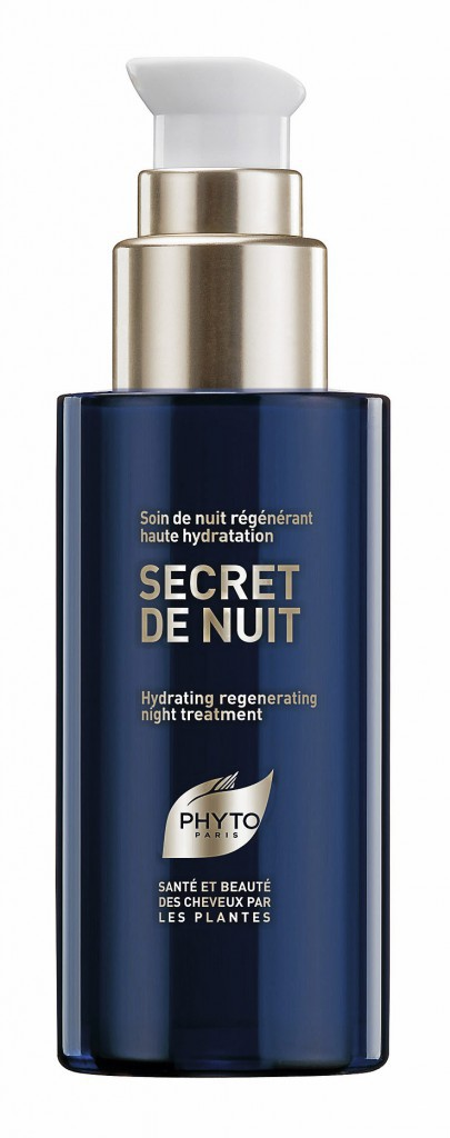 Des cheveux soyeux : Soin de nuit régénérant, Secret de nuit, Phyto 28,50 €