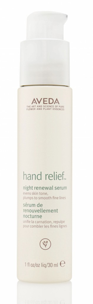 Des mains douces : Sérum de renouvellement nocturne, Hand Relief, Aveda 39 €