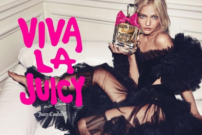 Sasha Pivovarova pour Juicy Couture
