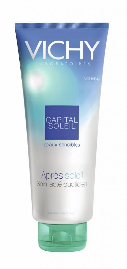 Après-soleil peaux sensibles, Vichy 12,50 €