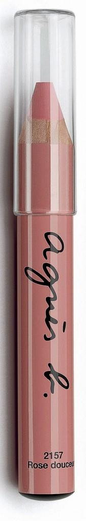 Crayon à lèvres Creamy Rouge, agnès b. au CCB. 9,95 €.