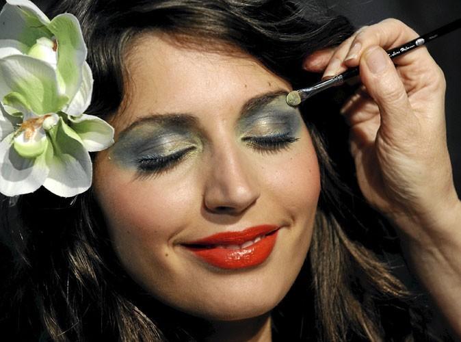 Beauté : le vert irisé