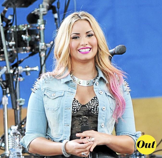 La couleur de l'espace de Demi Lovato : OUT !