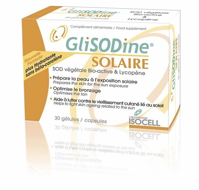 Gélules, Glisodine Solaire 22 €