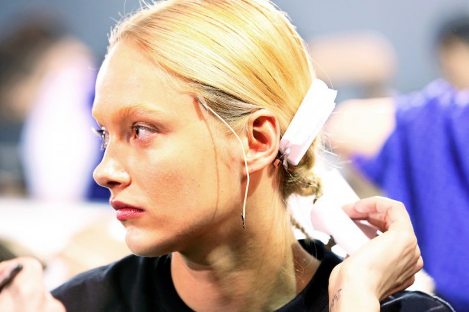 Backstage Givenchy automne-hiver 2014-2015