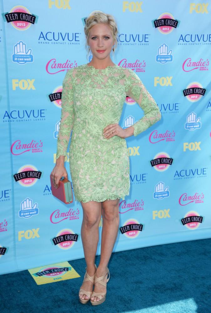 Brittany Snow aux Teen Choice Awards 2013 !