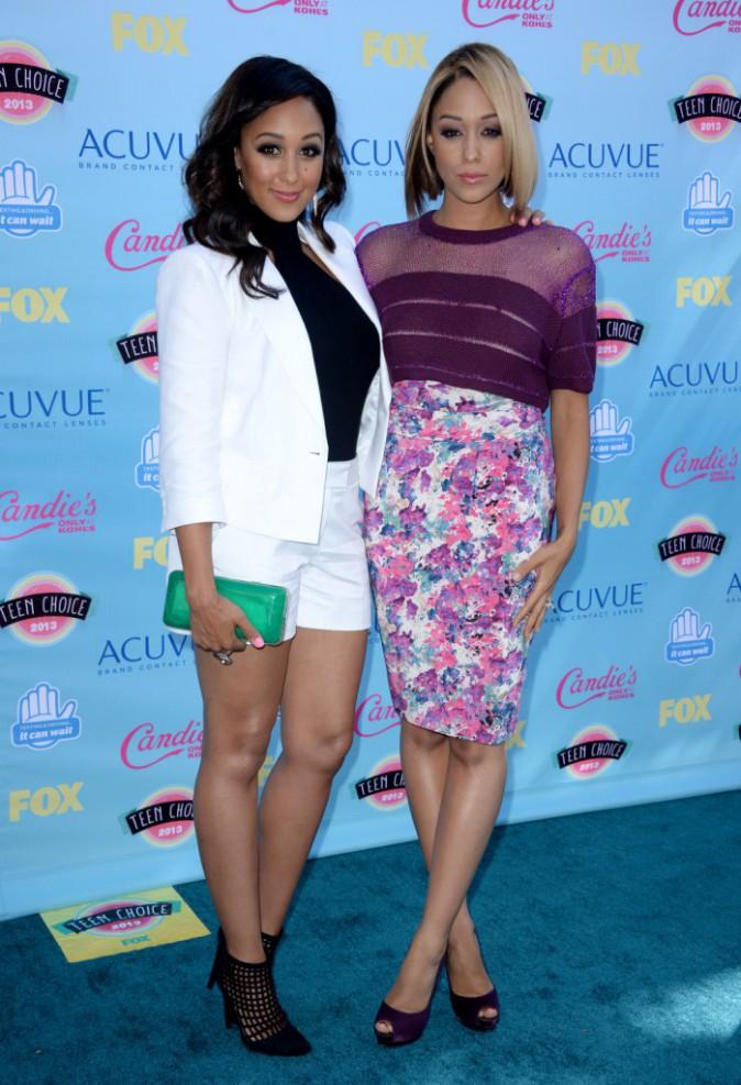 Tia et tamera Mowry aux Teen Choice Awards 2013 !