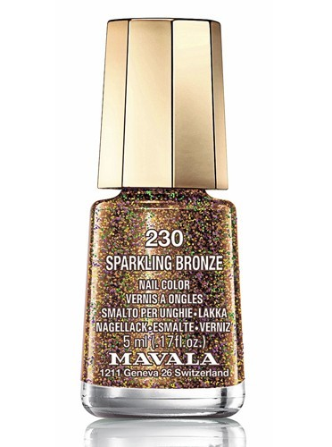 Sparkling Bronze, collection Show Time, Mavala. 5,50 €.