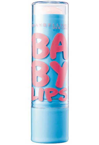 Baume à lèvres hydratant, Baby Lips, Gemey-Maybelline 3,90€