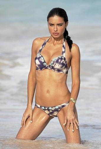 ... Et je veux des biceps toniques comme Adriana Lima !