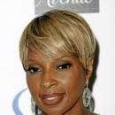Cheveux afro : la coupe courte de Mary J Blige