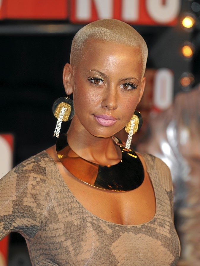 Amber rose blonde afro hot girls wallpaper - Coupe courte blonde ...