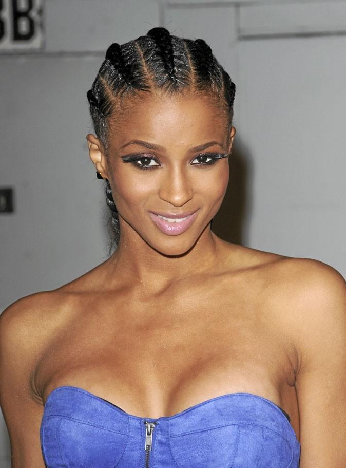 Cheveux afro : les tresses africaines de Ciara