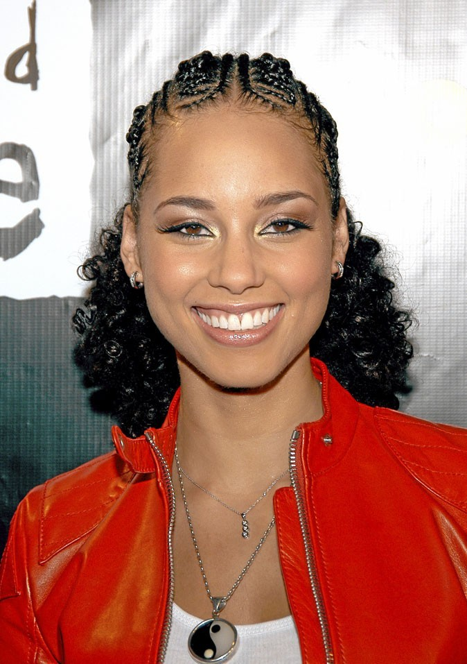 coiffure africaine tresses alicia keys. Black Bedroom Furniture Sets. Home Design Ideas