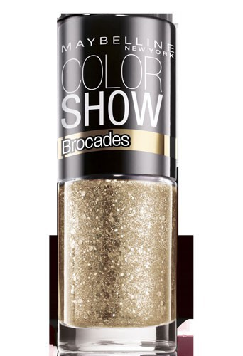 Coup de coeur : Vernis à ongles or, Collection Brocades, Color Show, Gemey-Maybelline, 3,80 €