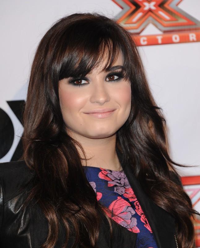 Demi Lovato en décembre 2012