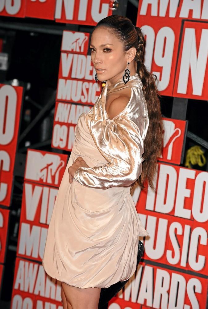 Coiffure de star : la tresse de Jennifer Lopez en 2009 !