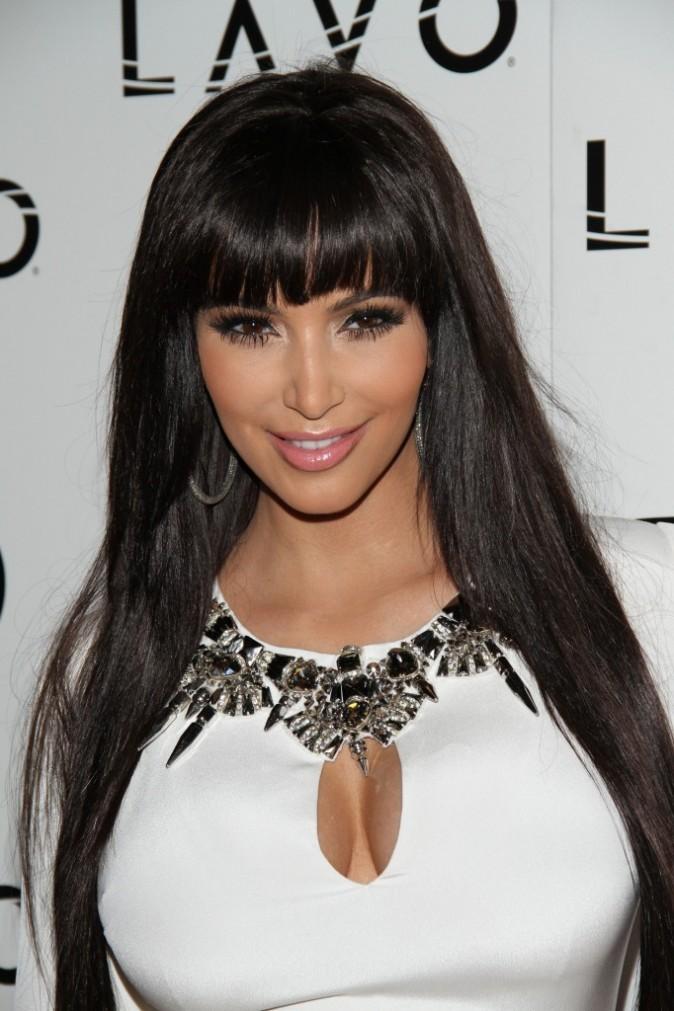 coiffure de star   le cv capillaire de kim kardashian