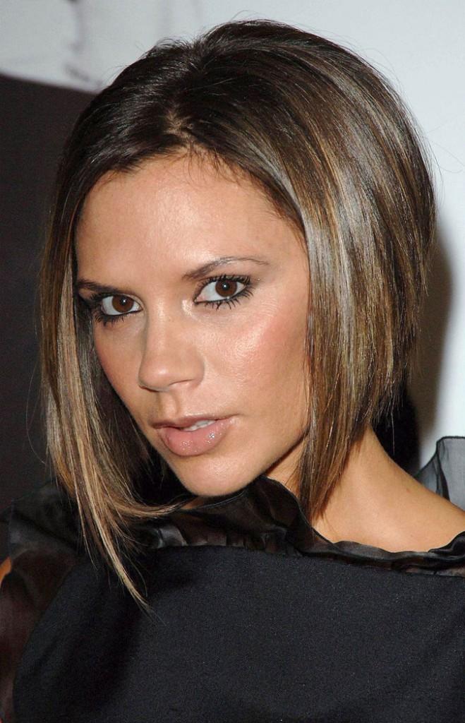 Le carré plongeant de Victoria Beckham en 2006 !