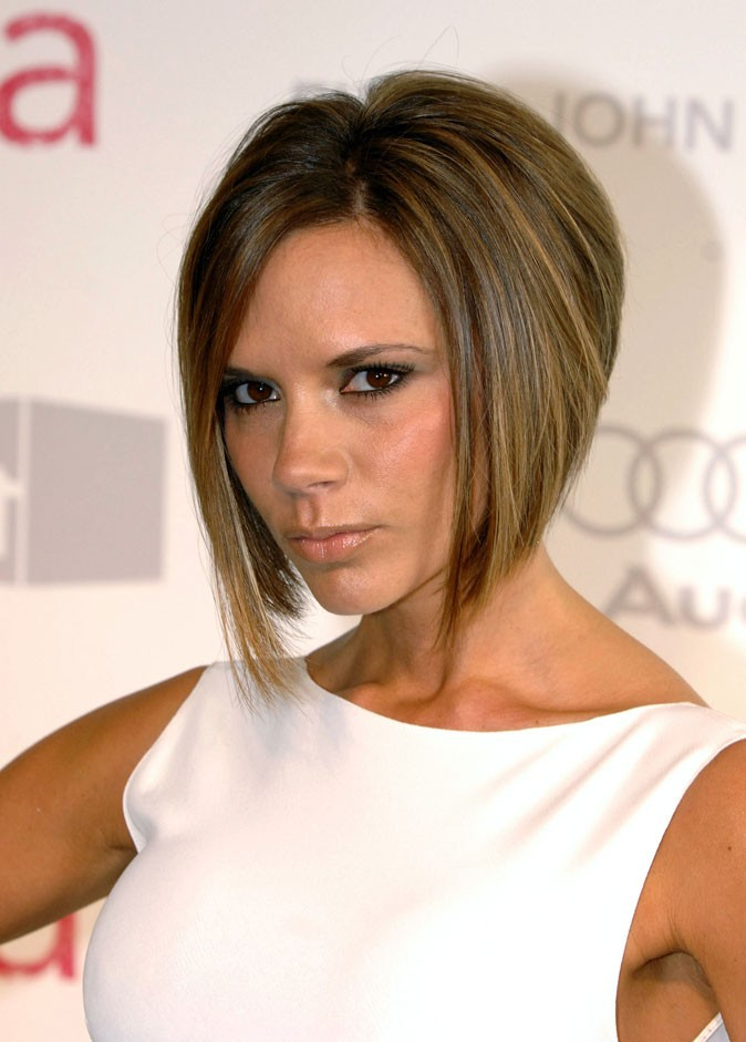 coiffure de star le cv capillaire de victoria beckham r actualis. Black Bedroom Furniture Sets. Home Design Ideas