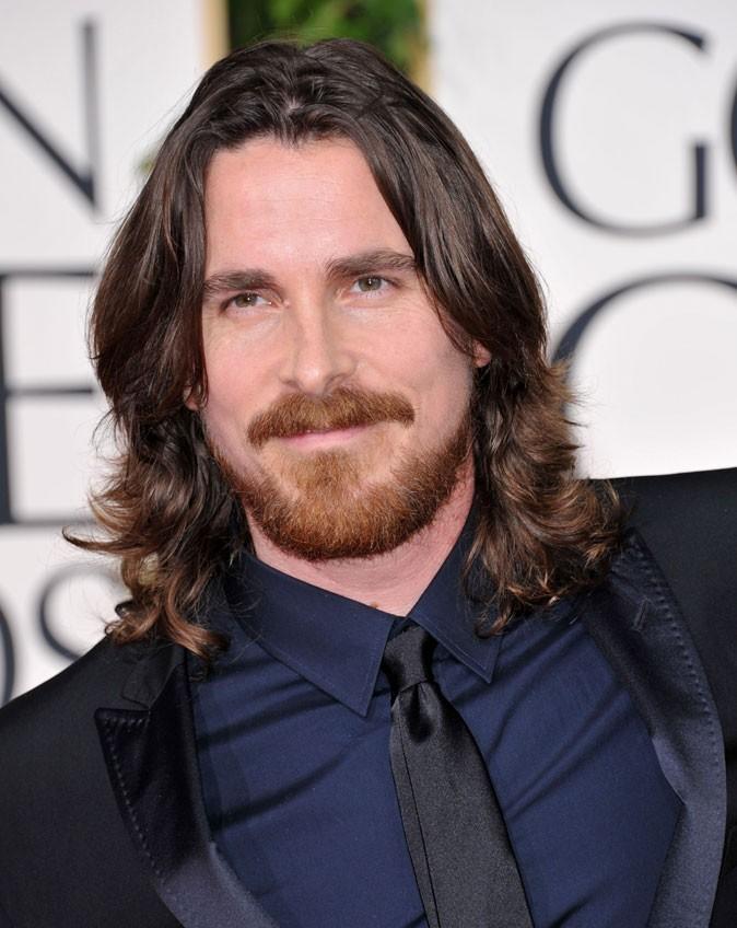 Coiffure de star : les cheveux longs de Christian Bale