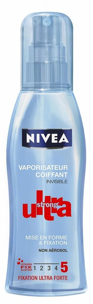 Le vaporisateur Coiffant Ultra Strong Nivea pour un néo carré parfait !