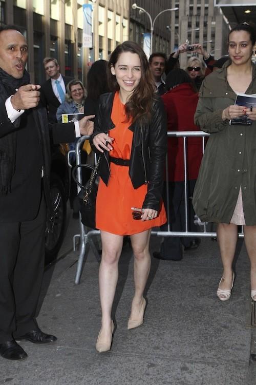 Emilia Clarke, le 14 avril 2013 !