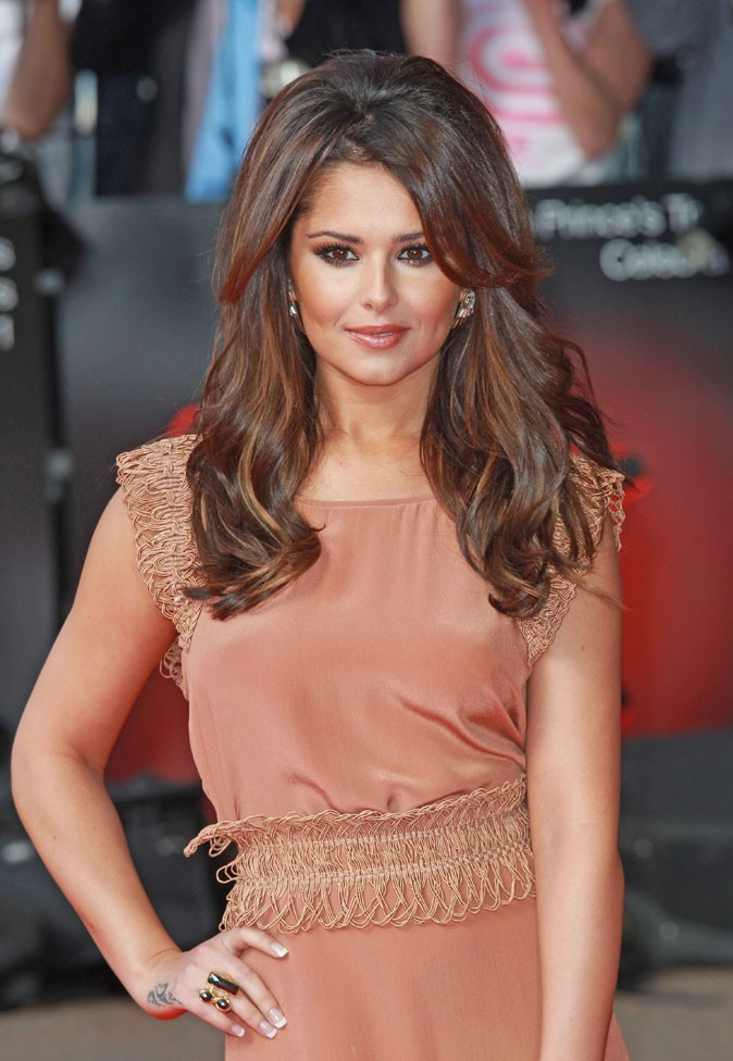 Cheryl Cole en Mars 2011 : un brushing glamour !
