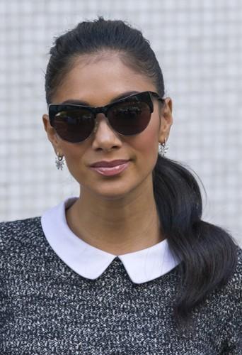 Nicole Scherzinger, le 4 octobre 2012.