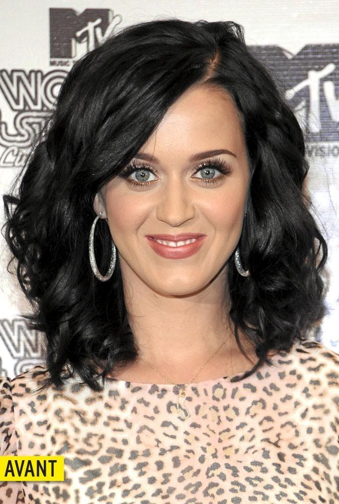Katy Perry les cheveux bruns