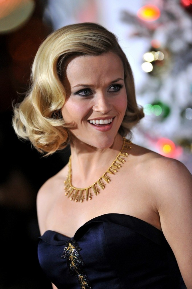 Reese Witherspoon et sa coupe 50's