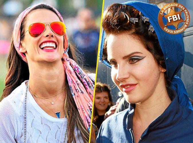 Coiffures de stars : FBI ( Fausse Bonne Idée) : le foulard headband !