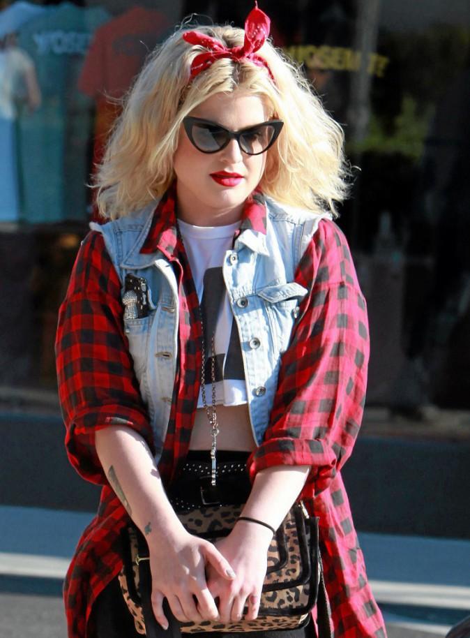 Elle a osé… et brillé : Kelly Osbourne