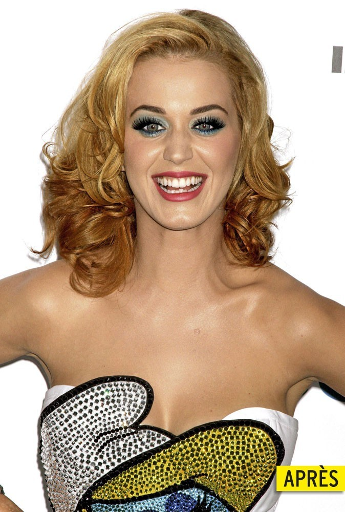 Katy Perry les cheveux blonds !