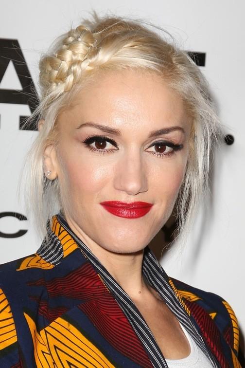 Gwen Stefani et sa tresse macaron