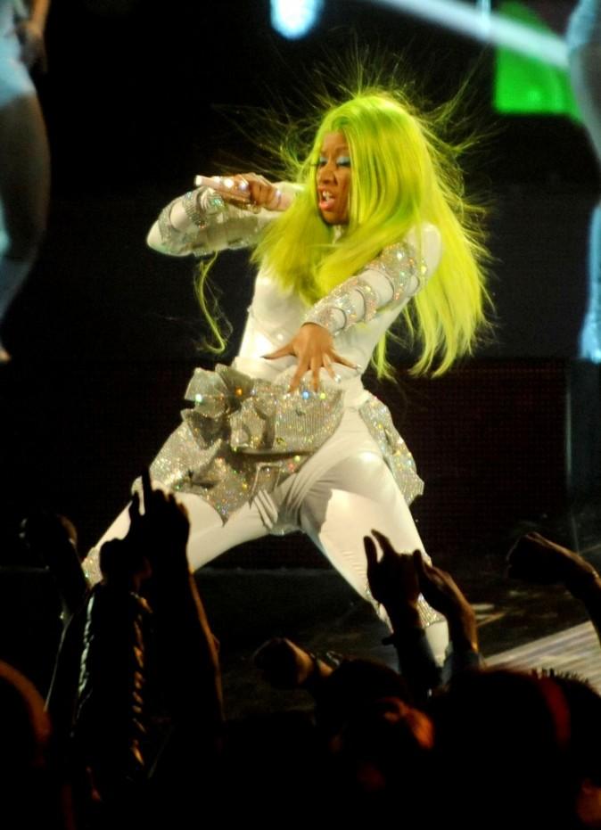 Février 2012 : Nicki Minaj et ses cheveux vert