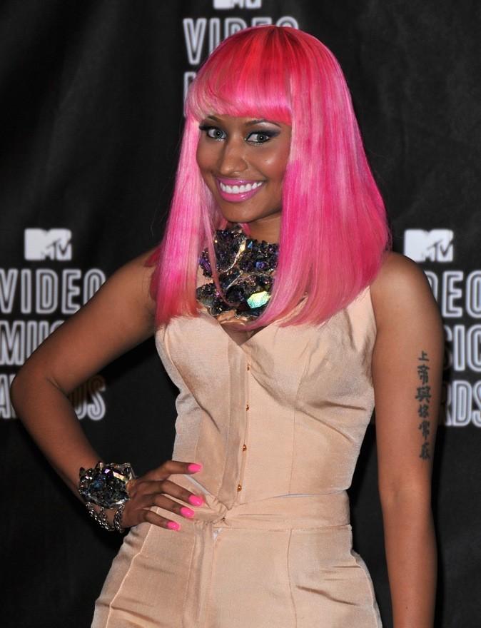 Septembre 2010 : Nicki Minaj et ses cheveux bicolores