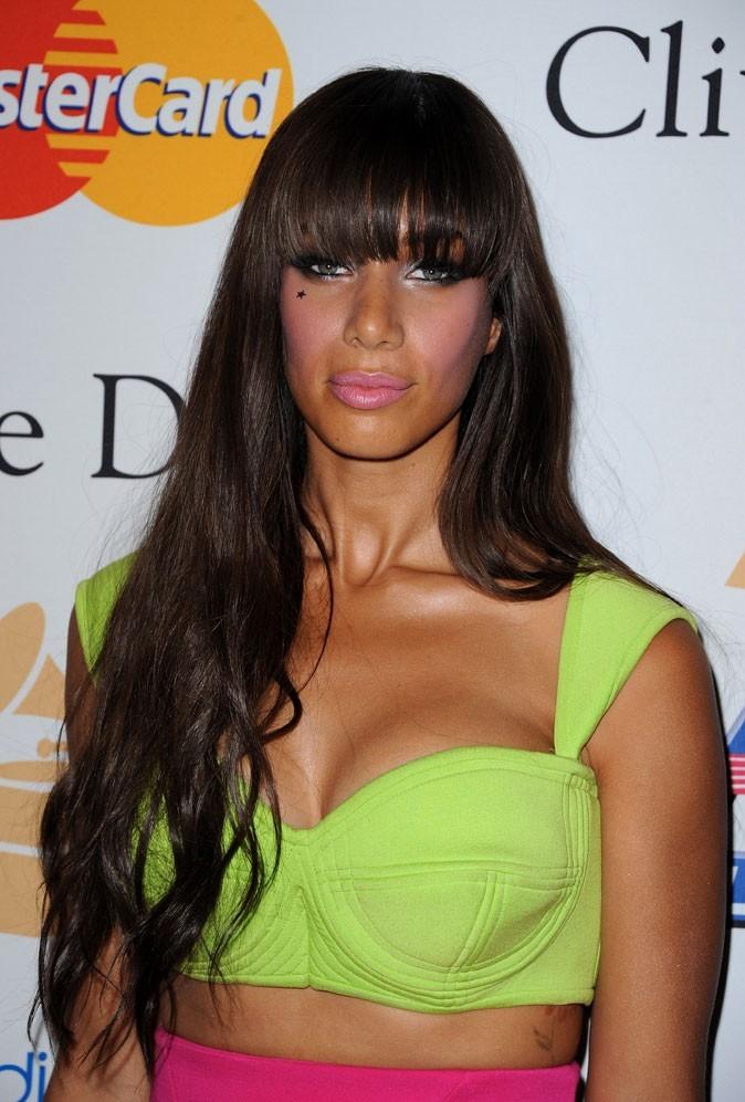 Leona Lewis avec une frange