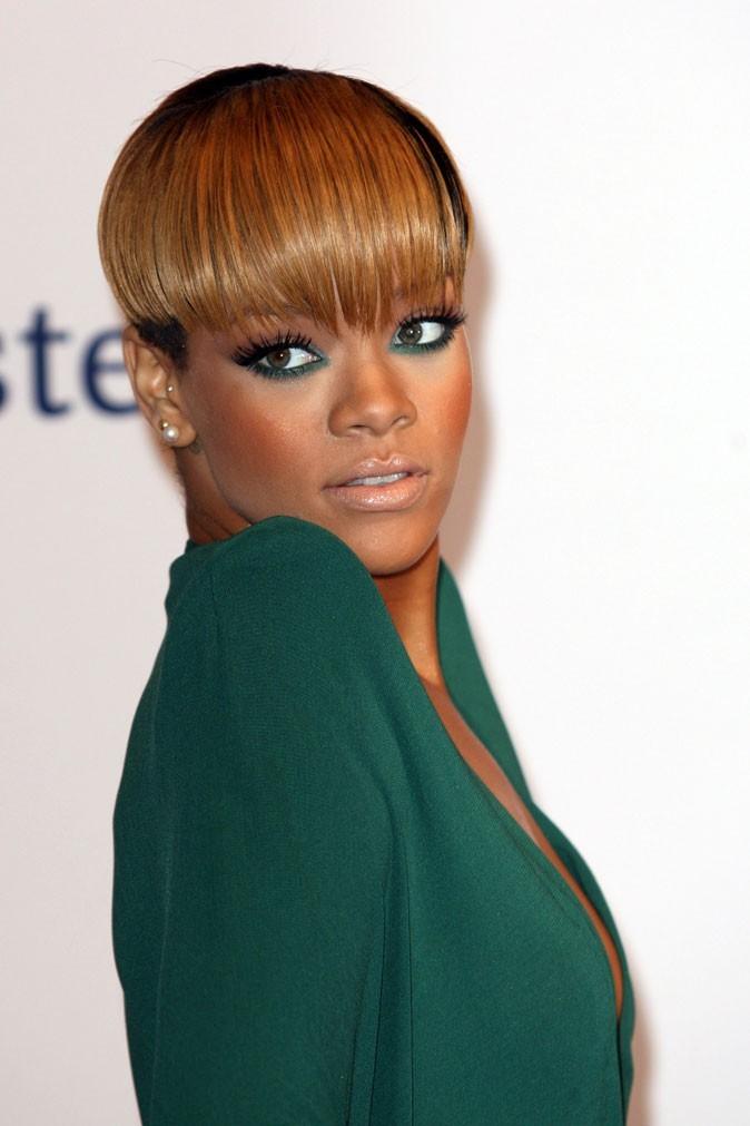 Rihanna avec une frange
