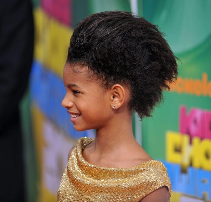 Les cheveux courts gonflés de Willow Smith en Avril 2011 !