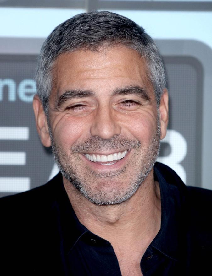 Dents de stars : le sourire de George Clooney aujourd'hui !