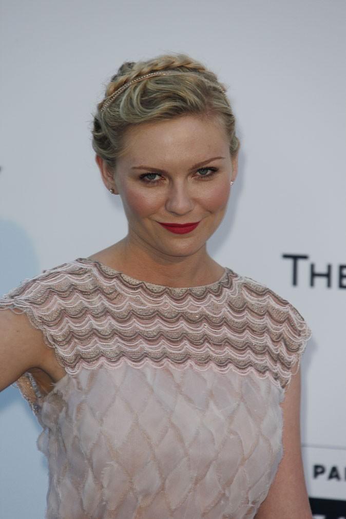 Coiffure de star au Festival de Cannes 2011 : la tresse headband de Kirsten Dunst