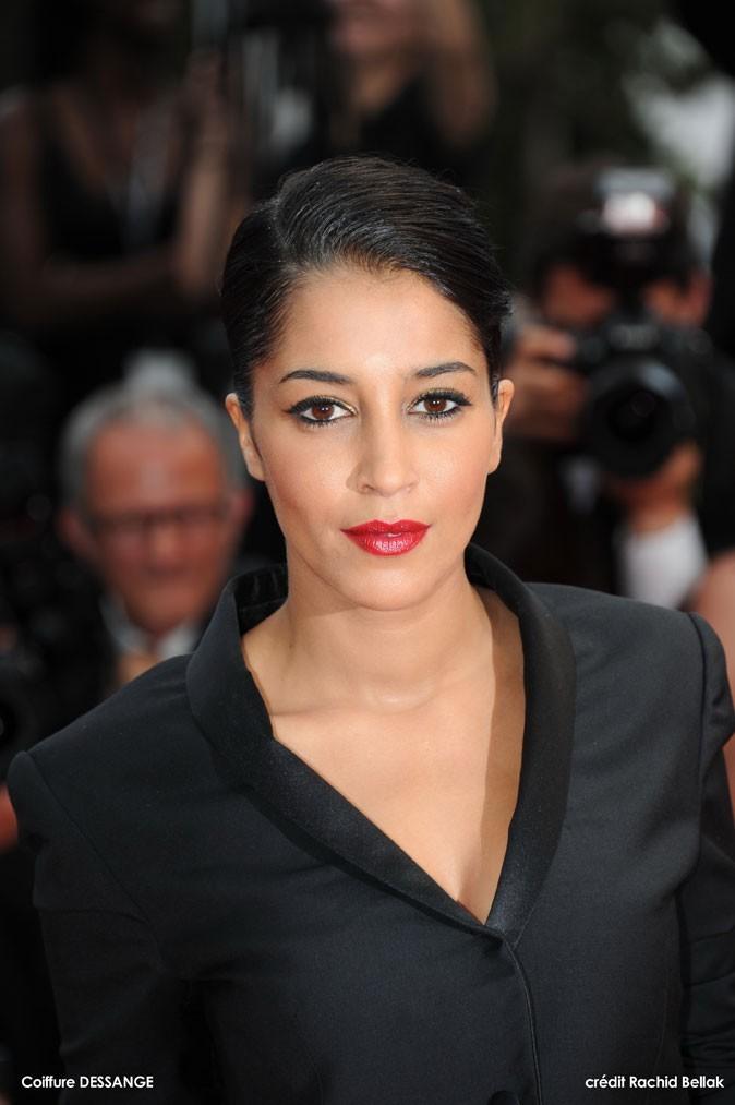 Maquillage de star au Festival de Cannes 2011 : la touche dorée sur les yeux de Leïla Bekhti