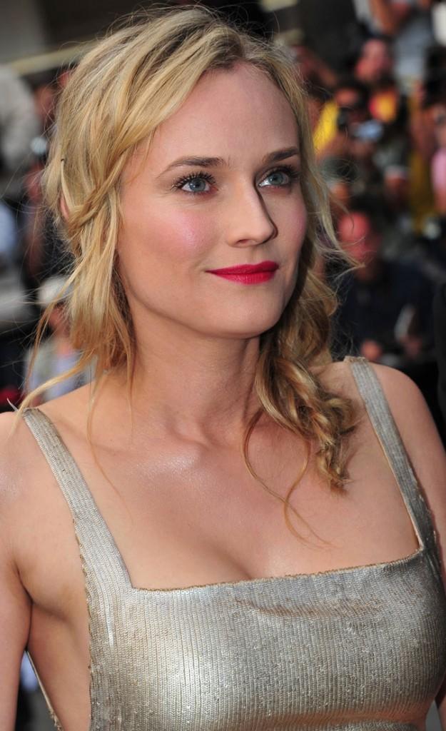 Maquillage de star au Festival de Cannes 2011 : le rouge à lèvres framboise de Diane Kruger