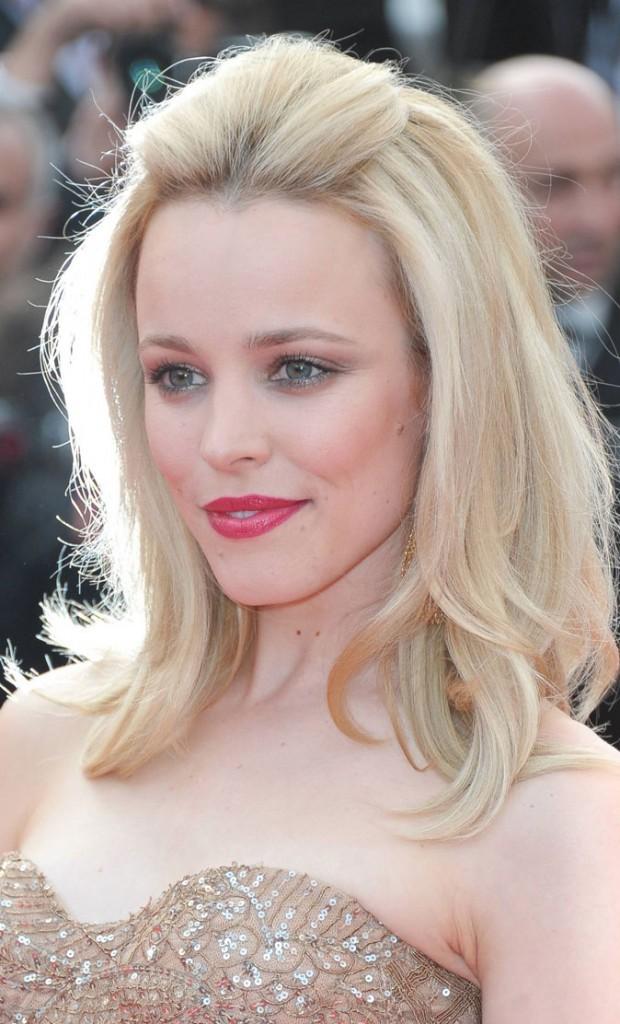 Maquillage de star au Festival de Cannes 2011 : le rouge à lèvres rose de Rachel McAdams