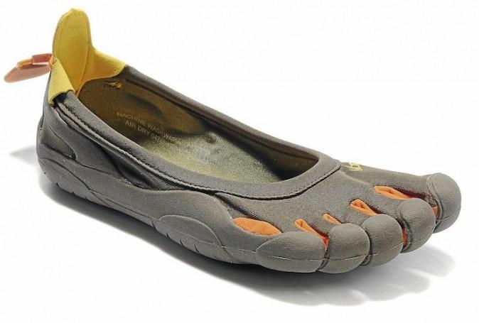 Chaussures Vibram Five f n g e r s . 129 €.