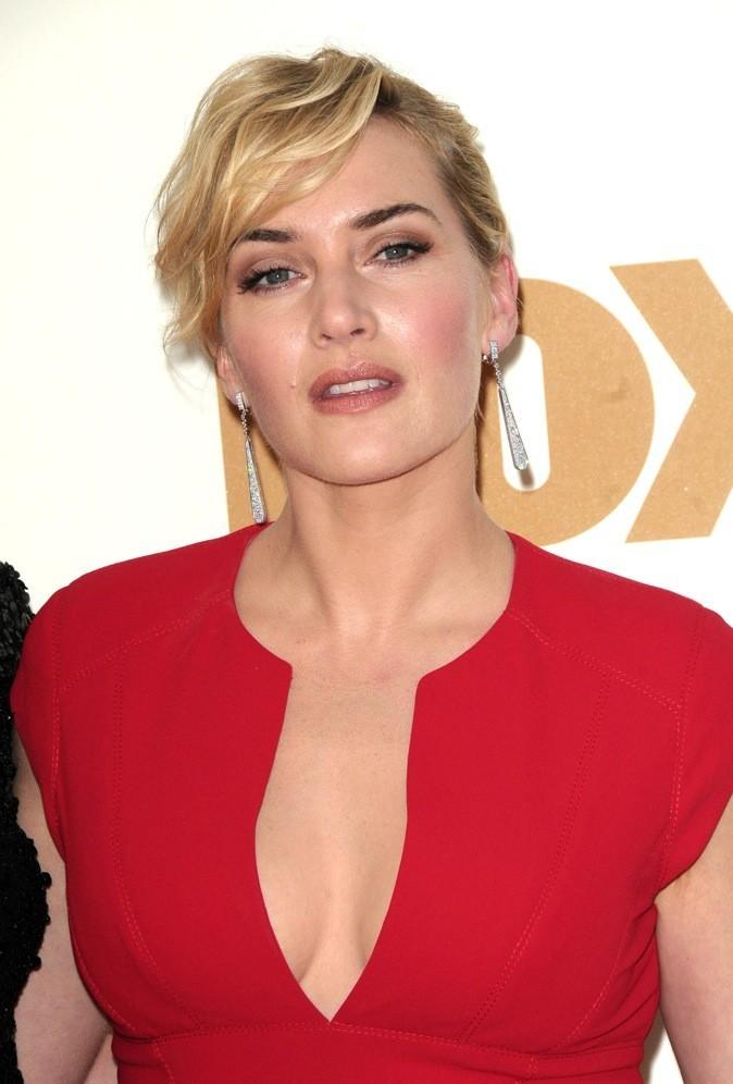 Kate Winslet, près de la bouche !